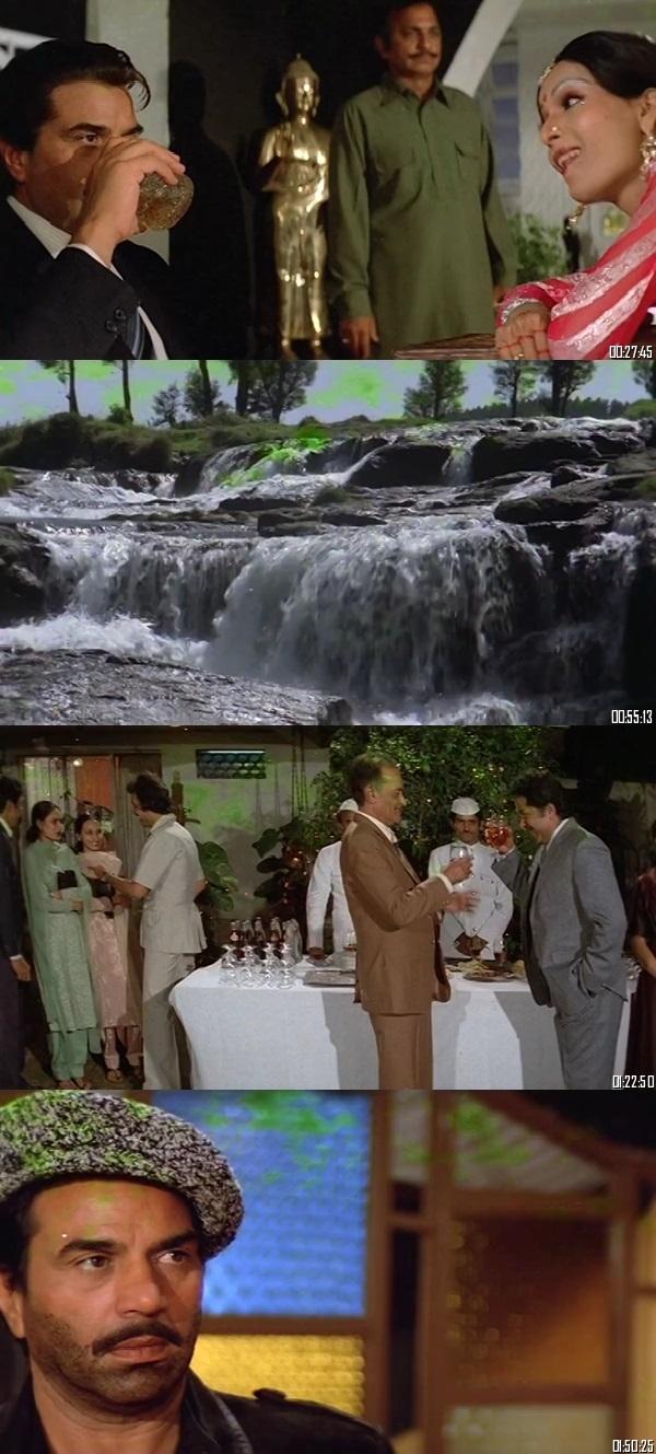 Screen Shot Of Qayamat 1983 300MB HDRip 480P Full Hindi Movie Watch Online Free Download