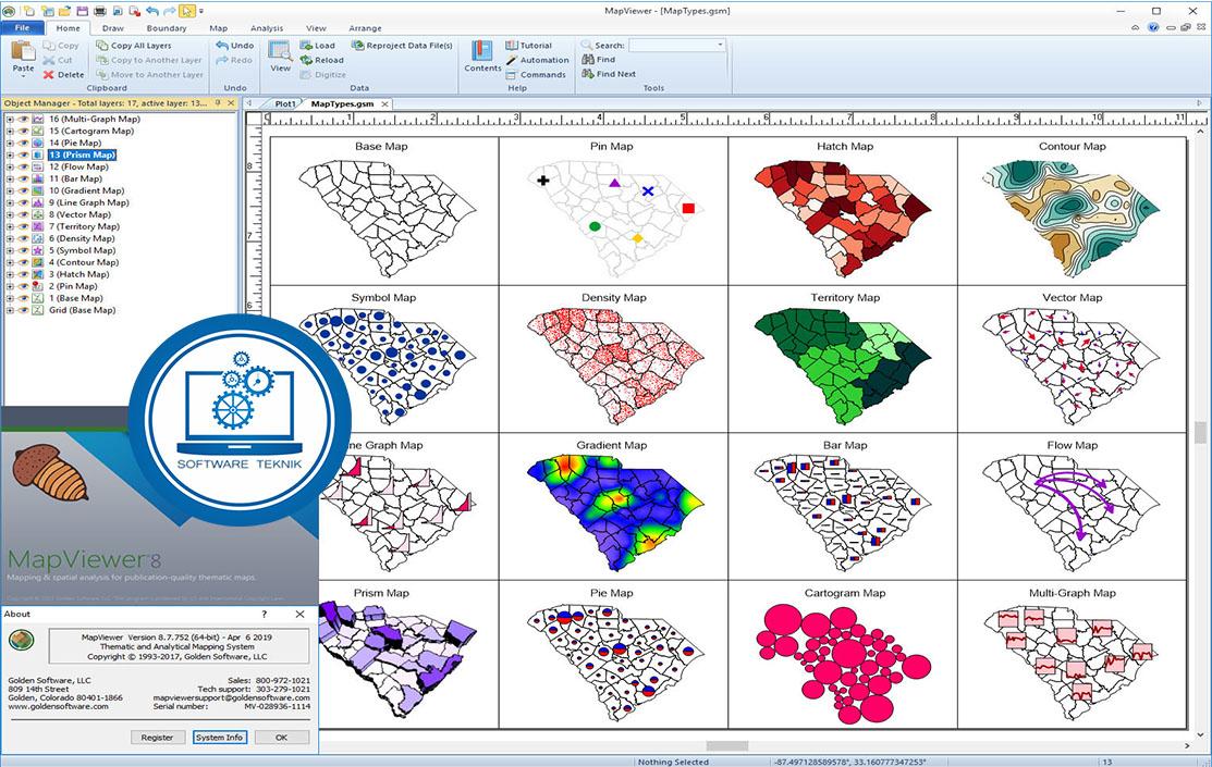 MapViewer v8.7