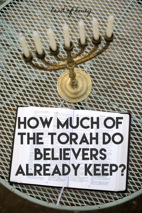 How much of the Torah do believers already keep? + Which Parts They Do | Land of Honey
