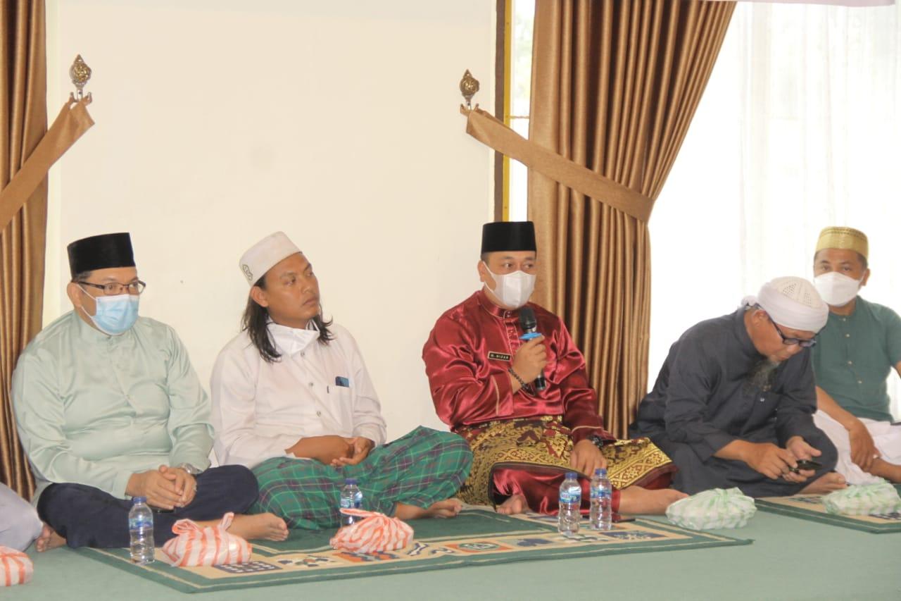 Bupati Lingga Gelar Doa Bersama dan Silaturahmi Dengan Masyarakat di Dabo Singkep
