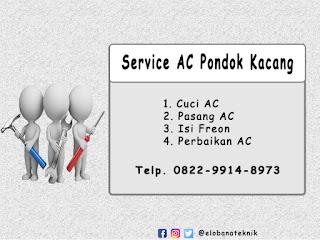 Service AC di Pondok Kacang
