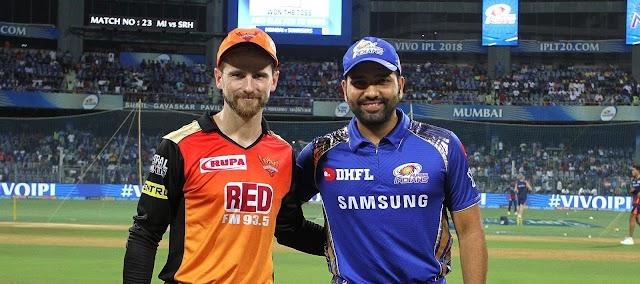 Sun Risers Hyderabad Vs Mumbai Indians Match No 4