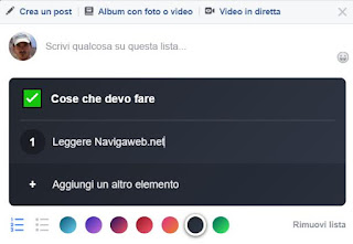 cose da fare facebook