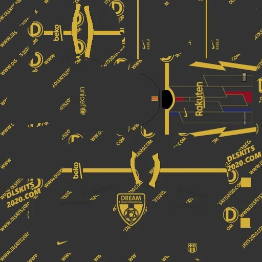 2021-2022 in La Liga and Dls kit barca (Away)