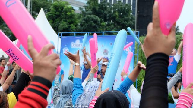 Joget Downy #JakartaBebasBau