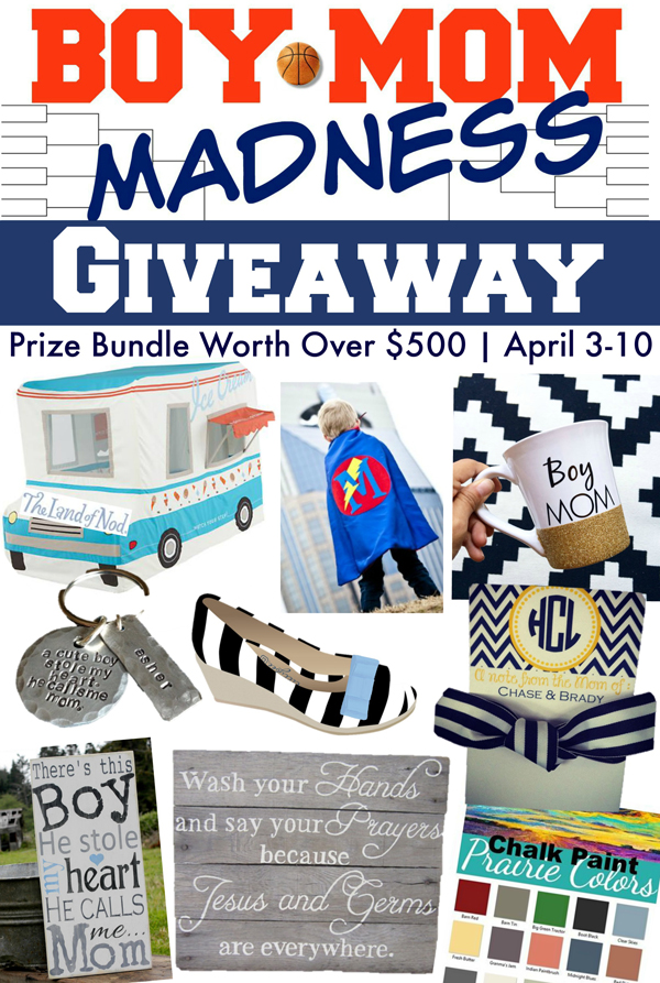 Boy Mom Madness Giveaway