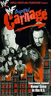 WWE / WWF Capital Carnage 1998 - Event poster