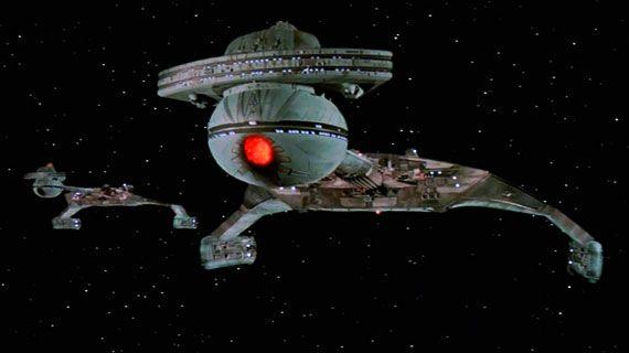 Two Klingon ships in Star Trek: The Motion Picture