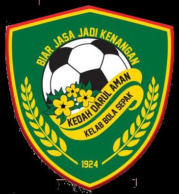 Logo rasmi kelab bola sepak Kedah Darul Aman FC yang diperkenalkan pada tahun 2020