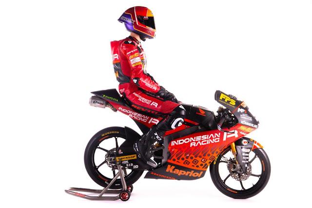 Indonesian Racing Gresini Moto3 2021 Resmi Diperkenalkan
