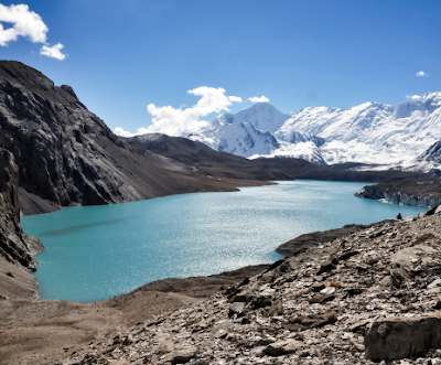 Route to Tilicho Lake -- Tilicho Lake