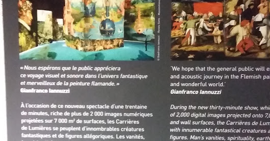 Carrieres de Lumieres new 2017 exhibition