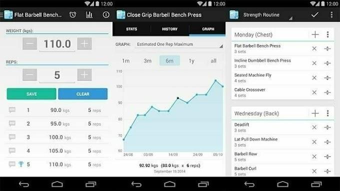 FitNotes: Μία ολοκληρωμένη εφαρμογή για την καταγραφή της γυμναστικής μας