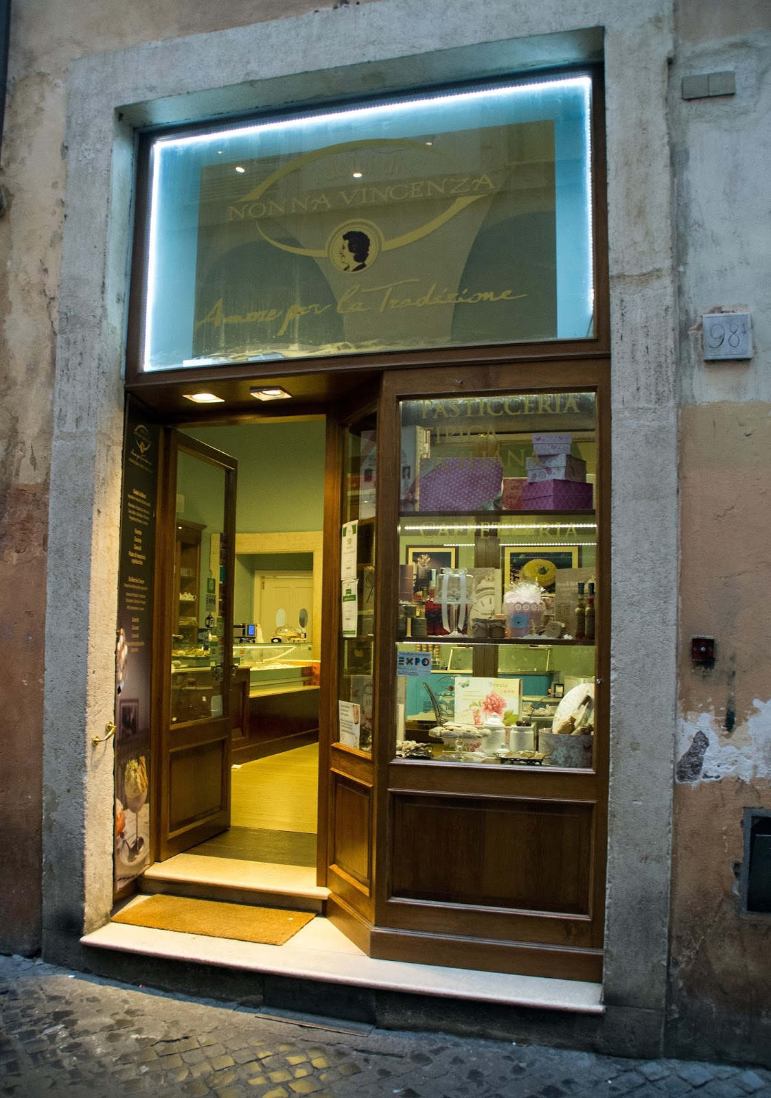 Sicilian Bakery on Secret Food Tour Rome