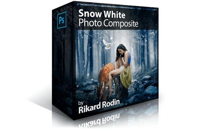Snow White Photo Composite