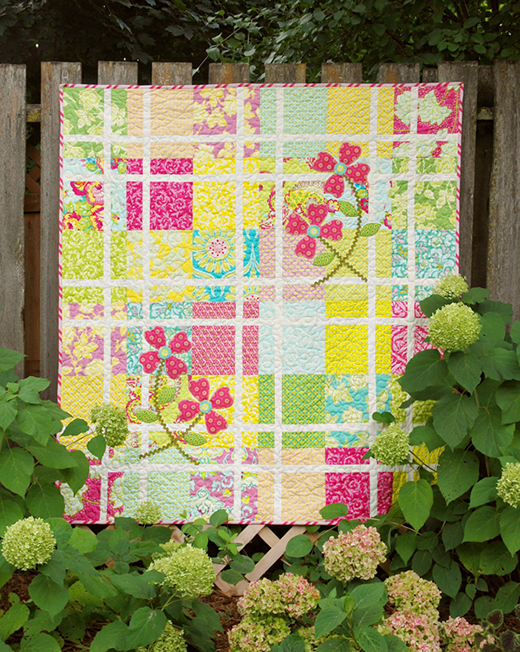 Pretty In Pink Quilt-Along designed by Heather Mulder Peterson from Trends and Traditions