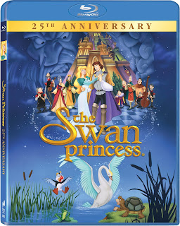 Blu-ray Review - The Swan Princess: 25th Anniversary
