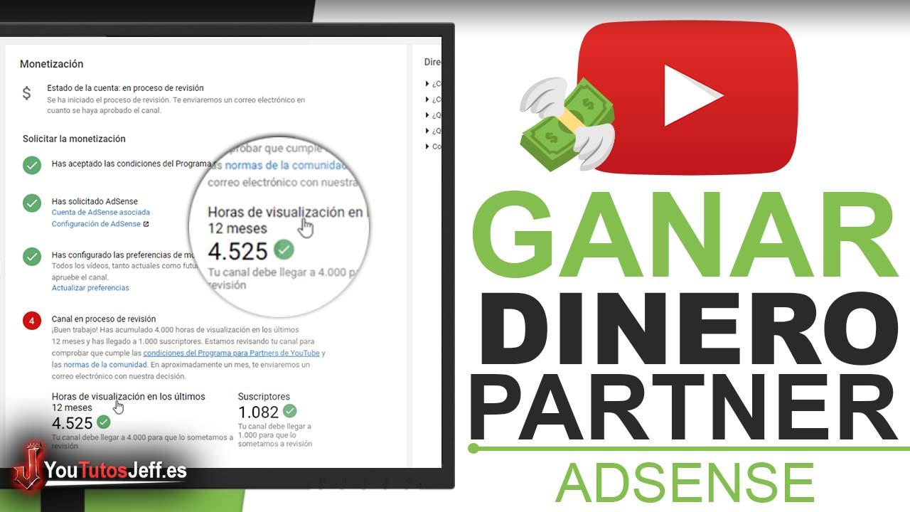 Como Ganar Dinero en Youtube - Ser Partner de Youtube