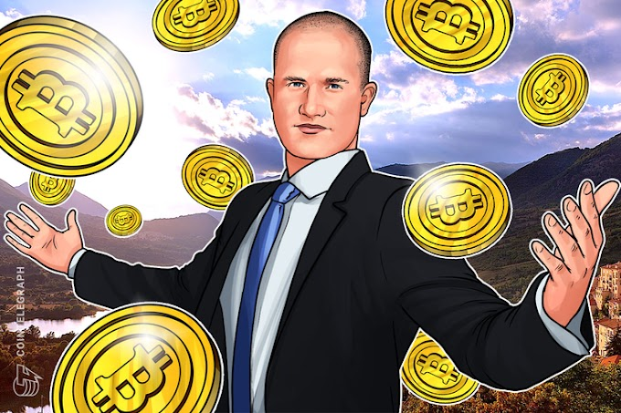 COINBASE CEO: Institutions deposit $ 200-400 million in cryptocurrencies per week