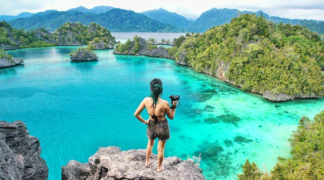 wisata indonesia balisiapa yang paling bisa danlihat cewek pakai bikini pamer paha mulus indah