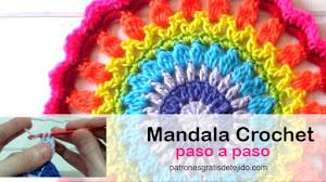 Tejer Mandalas Crochet | 2 Tutoriales en español
