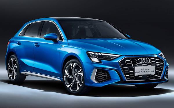 Novo Audi A3 Sportback 2022 (China)