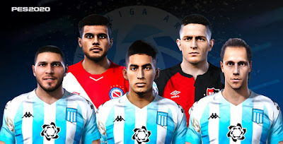 PES 2020 Facepack Argentina by Gordoumbanda