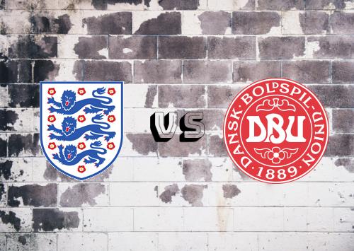 Inglaterra vs Dinamarca  Resumen y Partido Completo
