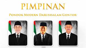 Prof Dr KH Amal Fathullah Zarkasyi dan Drs KH Akrim Mariyat Pimpin Gontor Bersama KH Hasan Abdullah Sahal