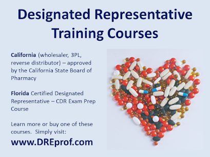 Designated Representative Training Courses (California, Florida)