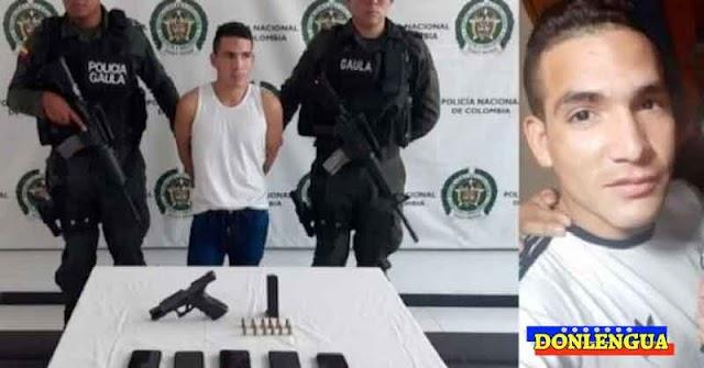 Peligroso sicario venezolano sigue extorsionando desde dentro de la cárcel en Colombia