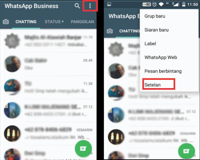 Membaca Pesan WhatsApp tanpa Membuka - Tanpa Centang