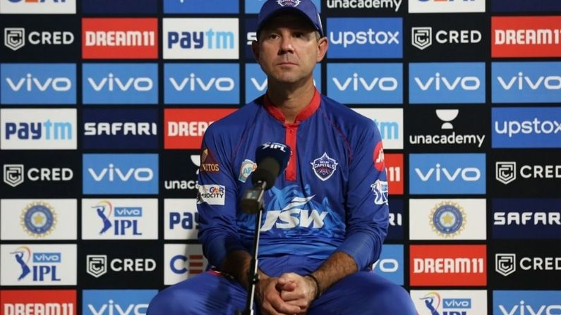 Ricky Ponting is the head coach of Delhi Capitals