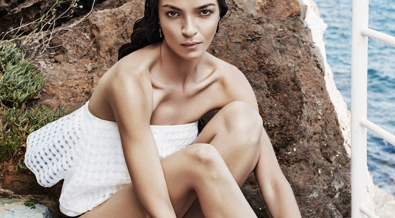 the modern muse: mariacarla boscono by alique for the edit by net-a-porter 23rd july 2015