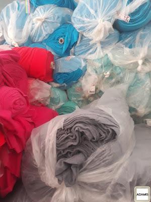 Cập nhật lô 12 tấn vải cây nỉ 1 da tồn kho giá rẻ cho xưởng may áo khoác tại Bình Dương