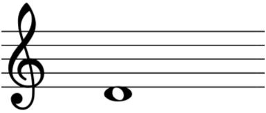 nota musical re