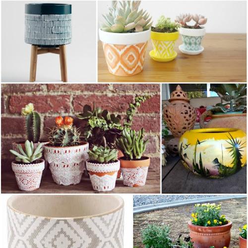 5 Boho Planters to Buy & 5 to DIY