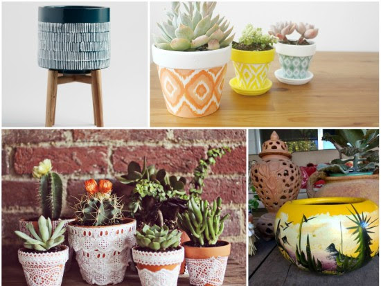 5 Boho Planters to Buy & 5 to DIY