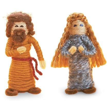 Away in a Manger: Biblical Hairdos