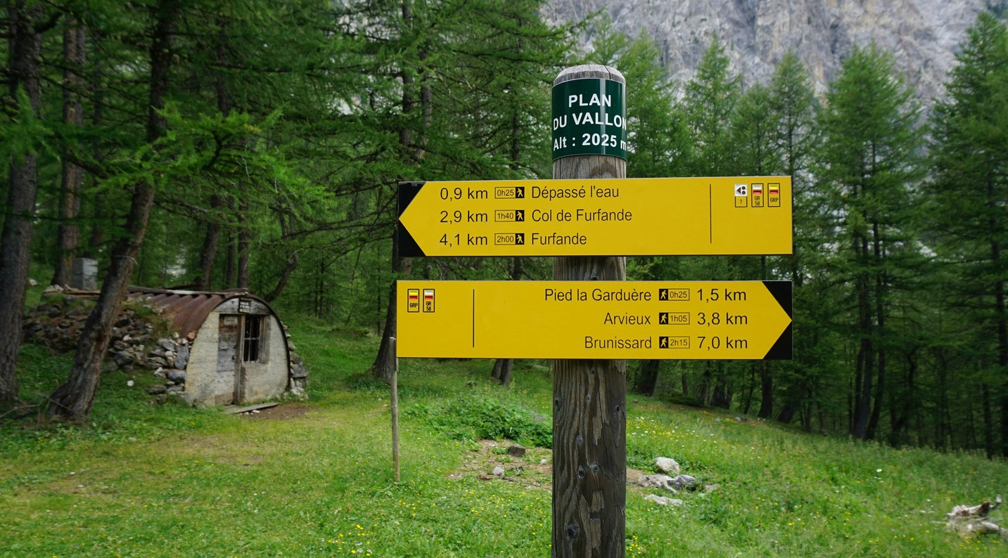 Plan du Vallon picnic area