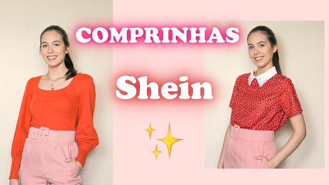 Recebidos Shein - Blusas, cardigan e acessórios! A Shein é confiável