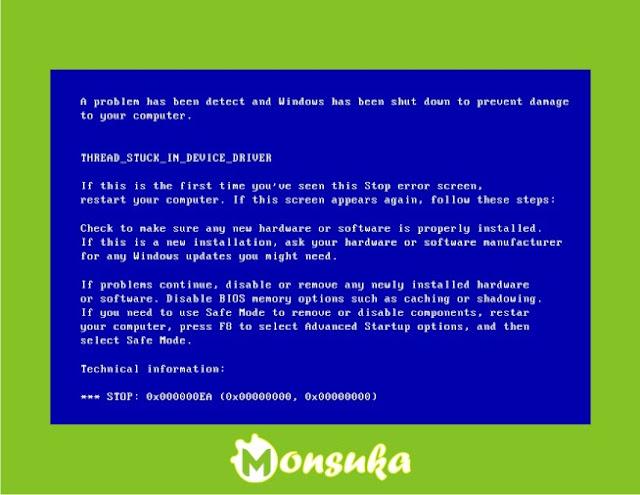 Cara Mengatasi Blue Screen Pada Windows 7/8/10