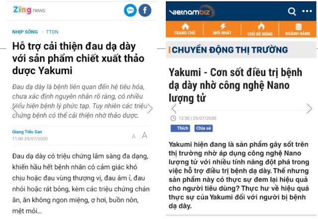 bao chi danh gia cao vien sui da day yakumi
