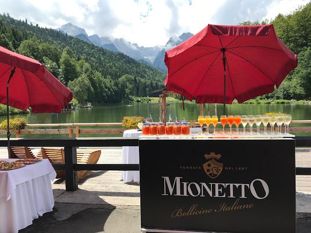 wedding reception open bar, Wedding abroad, Mountain wedding lake-side at the Riessersee Hotel Resort Bavaria, Germany, Garmisch-Partenkirchen