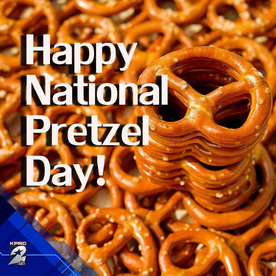 National Pretzel Day Wishes Awesome Picture