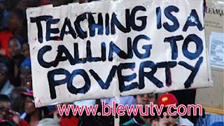 Zimbabwe Teachers Demonstrate