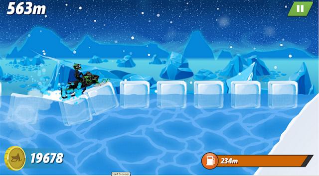 تحميل لعبة السباقات الرائعة Arctic Cat Snowmobile Racing
