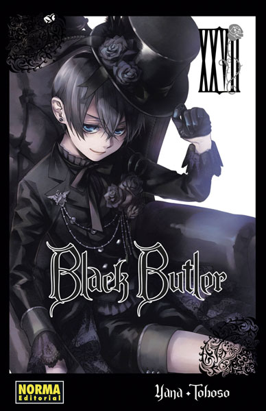 Reseña de Black Butler (Kuroshitsuji 黒執事) vol.27 de Yana Toboso - Norma Editorial