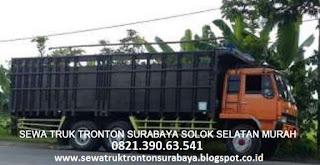 SEWA TRUK TRONTON SURABAYA SOLOK SELATAN (PADANG ARO) MURAH