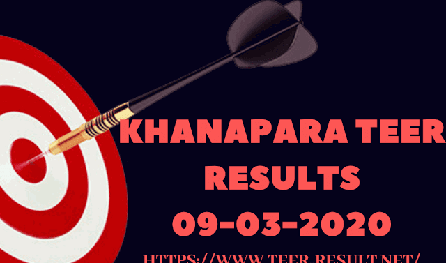 Check Khanapara Teer Results, Common Number Today-09-03-2020